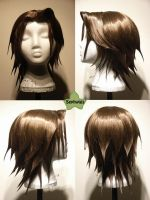 Wig Commission - Leon by kyos-girl