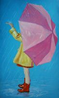 Catching raindrops by RTyson