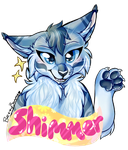 Shimmer Badge by BreezyBunny