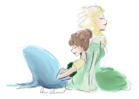 Frozen Fever by erinpauline
