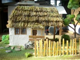 Traditional House by AllyEdFrown