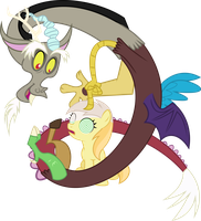 Noi and Discord by Lumorn