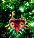 Majora's Mask Papercraft Ornament (Tutorial) by studioofmm