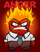 Inside Out's Anger by totalnonsense89