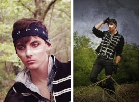 Adam Ant Inspired by JosephineJonesMUA