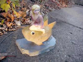 Fish Fairy Painted by garascia