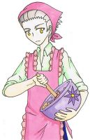 Pink Baking Akutsu by shadowpheonix64