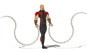 Arkady Rossovich - Omega Red by luishenriquerc