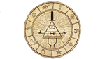 Bill Cipher Gravity Falls transparent by Dustyfootwarrior