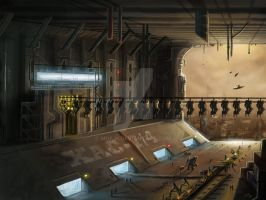 Hangar-Factory by MOE-N
