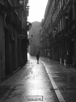 Lonely Streets by log