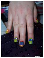 Journal Tkk TMD AB TMNT Nails by Kya-Kyabetsu