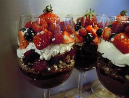 Chocolate Fruite Mousse (3) by KamiraS