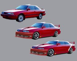 88 Mazda MX-6 mod v2 by shark3000