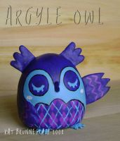 Argyle Owl Mini Fig by fuish