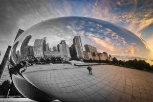 Chicago, Photographer of Bean by alierturk