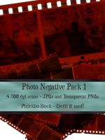 Photo Negative Pack 1 by pixiekist-stock