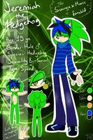 .:Ref:. Jeremiah the Hedgehog (!NEW!) by SilverfanNumberONE