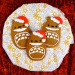 Totoro Gingerbread Cookies (Tutorial) by studioofmm