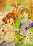 princess mononoke fanart contest by NestOfDreams