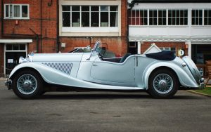 Not A Kitten (1939 Bentley) by FurLined