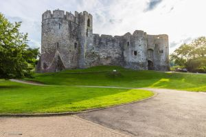 Chepstow Castle by CyclicalCore