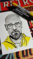 Walter White Breaking Bad by craftgeekgirl