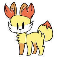 fennekin!! by winterei