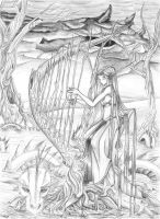 Lady of the Wood by lavonne