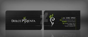 Dolce Pimenta Business Card by RogerLima