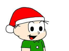 Jimmy Five with Santa Claus hat by SuperMarcosLucky96