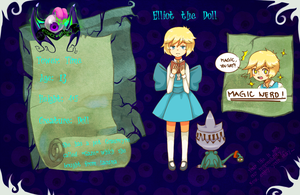 HM - Elliot the Doll (Updated) by ArtsyAica