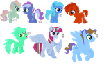 MLP Point Adopts -- OPEN 1/7 by WillowtruthNeverclan