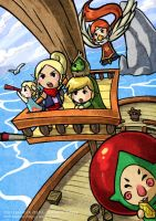 Zelda: Let's go pirates by Nacrym