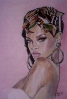 Rihanna by Slavenart