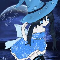 BRS as a Witch by The1darkanimelover