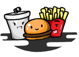 happy meal by benci04