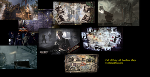 Call of Duty: All Zombies Maps by RenerDeCastro