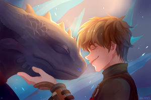 How To Train Your Dragon 2 by bk090909
