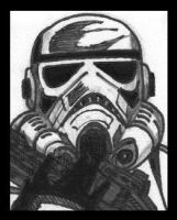 Stormtrooper by PLANETKURTH