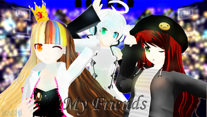 .:MY FRIENDS:. by HashiKirkland