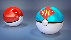 Pokeballs by JARV69