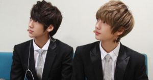 Kwangmin and Youngmin by ambieshinee