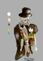 itward and Fran bow by xDarkAng3lx3