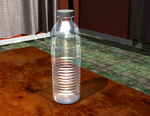 Water Bottle: 3D Render in Rhino by AskGriff