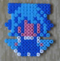 cirno hama beads by Michiresu