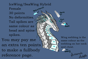 (Closed) Sea/IceWing 30 Point Adopt by AurorasAdoptables
