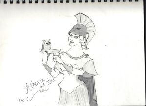 The goddess of Athens (Disney Hercules)