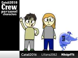 Catali2016 Crew (Personal characters showcase) by Catali2016
