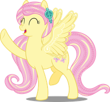Pony Rockin' Hair - Fluttershy by icantunloveyou